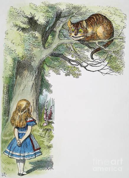 Alice In Wonderland Photograph - Dodgson: Alice, 1865 by Granger