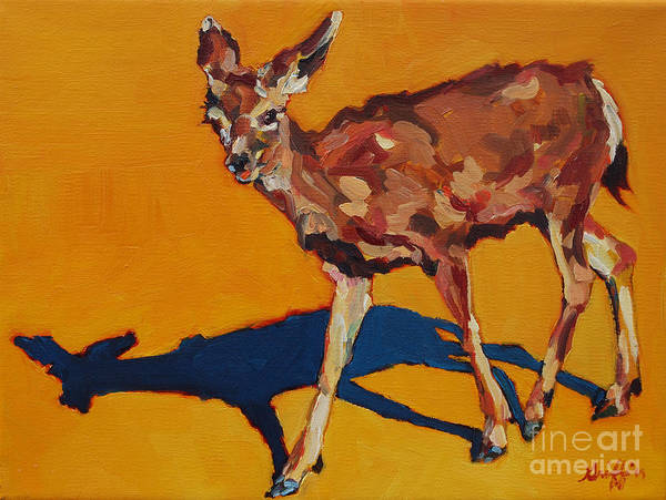 Doe At Grand Canyon Art Print