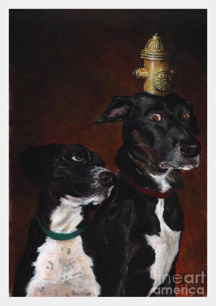 Mutt Painting - Dog Dayja Vu by Richardson Comly