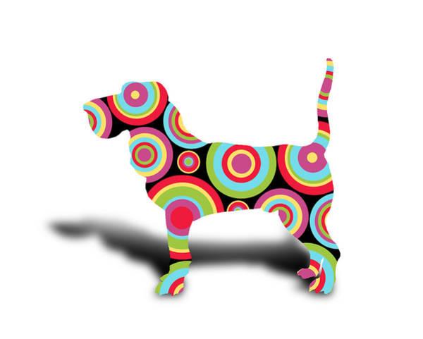 Terrier Digital Art - dog by Mark Ashkenazi