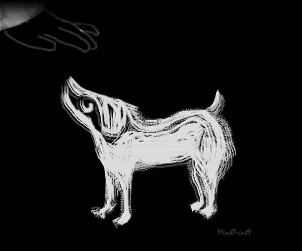 Skeptic Wall Art - Digital Art - Dog-sense by Asok Mukhopadhyay