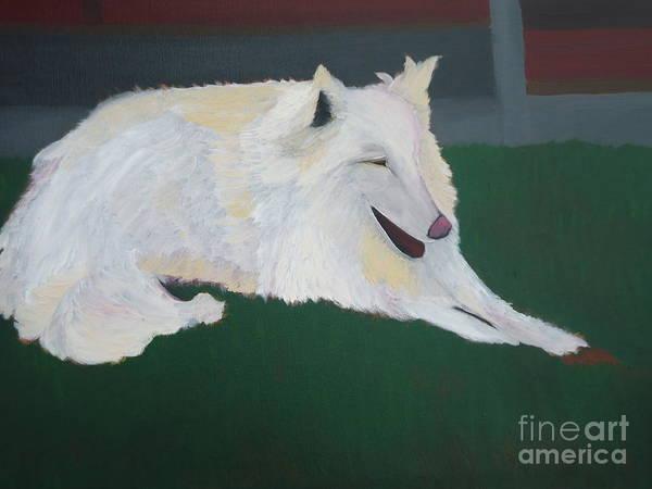 Painting - Dog With A Bone by Sophia Landau