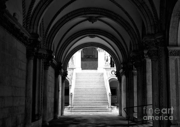 Wall Art - Photograph - Doge's Palace Stairs by John Rizzuto