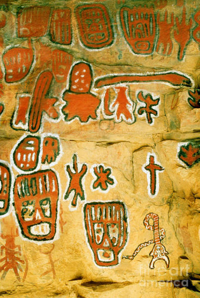 Photograph - Dogon Cave Painting by Explorer