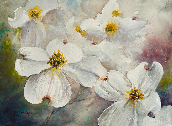 Painting - Dogwood 6 by Bill Jackson