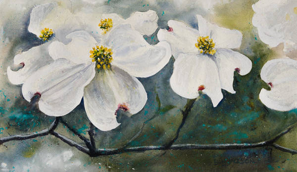 Painting - Dogwood 7 by Bill Jackson