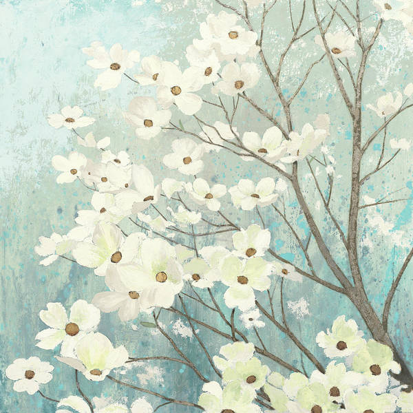 Dogwood Painting - Dogwood Blossoms I by James Wiens