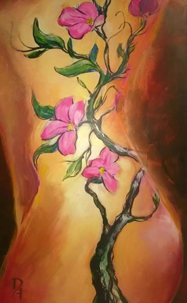 Dogwood Painting By Dan Harrel
