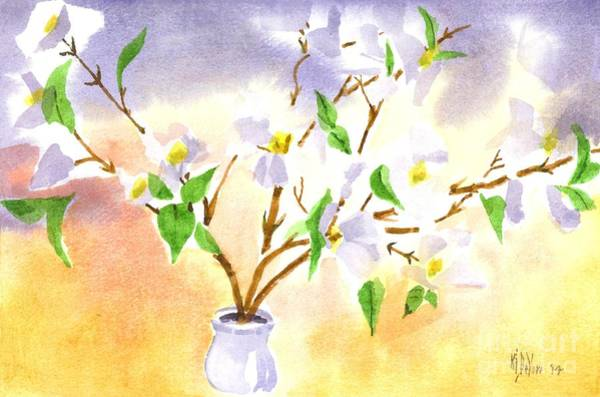 Painting - Dogwood In Watercolor by Kip DeVore