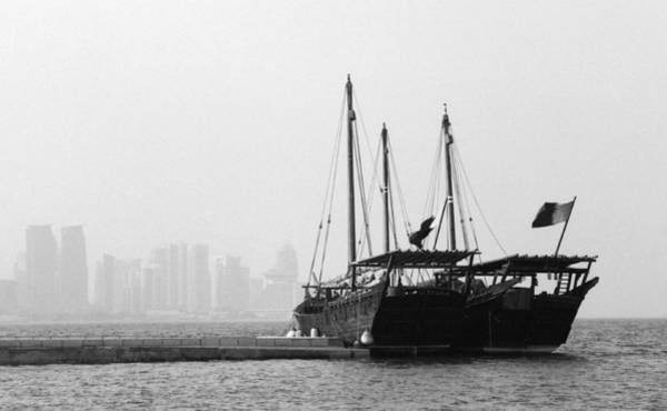 Photograph - Doha Bay 2011 by Paul Cowan