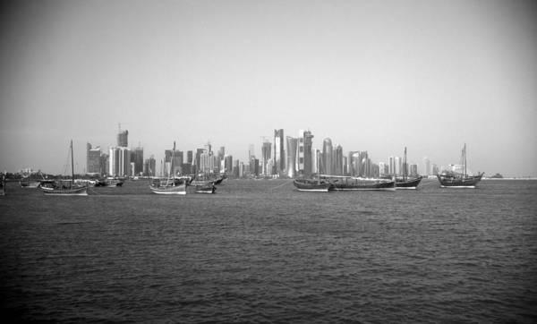 Photograph - Doha Dhow Display by Paul Cowan