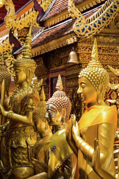 Chiang Mai Province Photograph - Doi Suthep Temple, Chiang Mai by @ Didier Marti