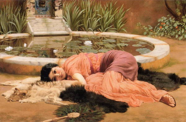 Dolce Wall Art - Painting - Dolce Far Niente Or Sweet Nothings 1904 by Philip Ralley