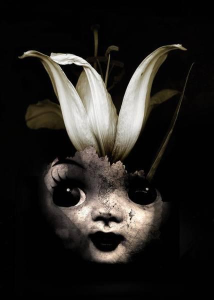 Surrealistic Photograph - Doll Flower by Johan Lilja