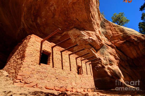 Doll House Photograph - Doll House Anasazi Ruin by Gary Whitton
