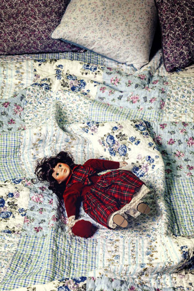 Wall Art - Photograph - Doll On Bed by Joana Kruse
