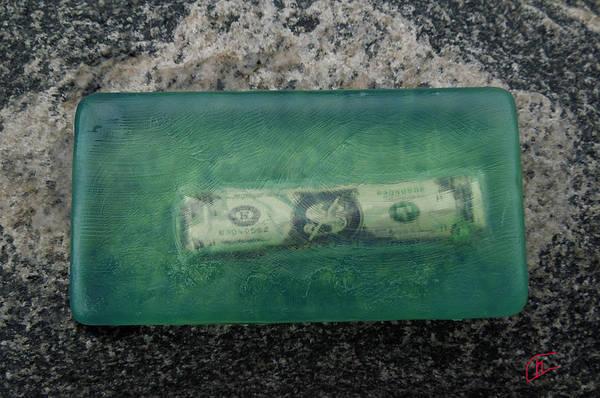Photograph - Dollar Note Soap Travel  Destination by Colette V Hera  Guggenheim