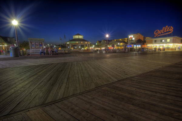 Photograph - Dolles Rehoboth Beach by David Dufresne
