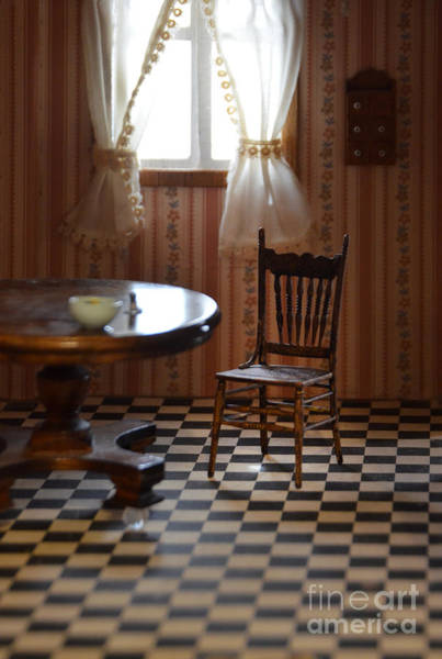 Doll House Photograph - Dollhouse Kitchen by Jill Battaglia