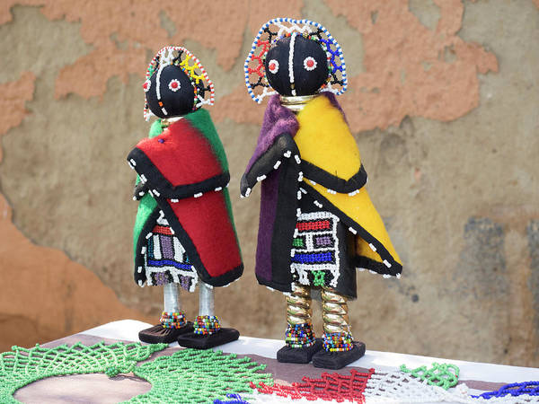 Johannesburg Wall Art - Photograph - Dolls For Sale, Soweto, Johannesburg by Panoramic Images