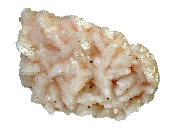 Natural Elements Photograph - Dolomite Mineral by Natural History Museum, London/science Photo Library