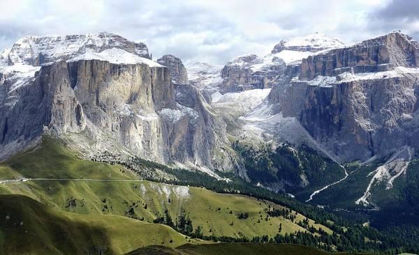 Alpine Meadows Photograph - Dolomites by Cordelia Molloy