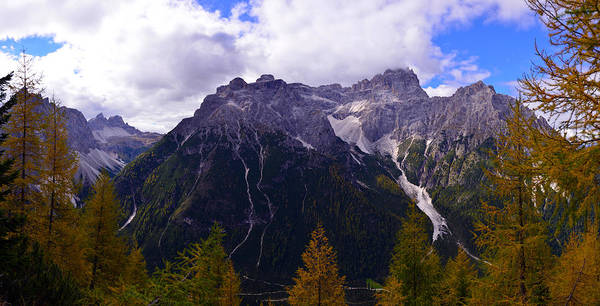 Photograph - Dolomites In The Fall by Matt Swinden