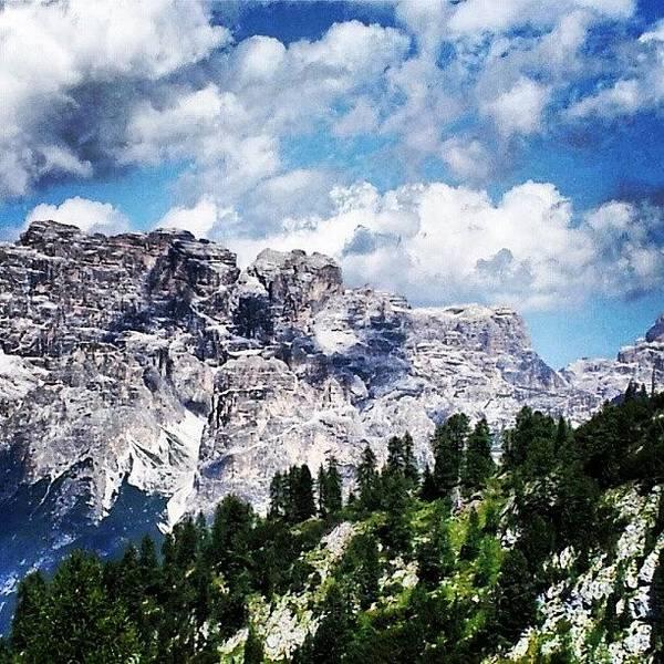 Romantic Wall Art - Photograph - Dolomites Mountains by Ernesto Cinquepalmi