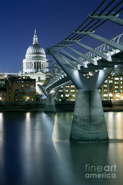 Wall Art - Photograph - Dome And Bridge by Rod McLean