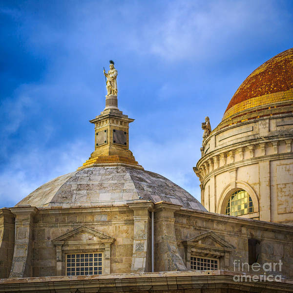 Photograph - Dome And Saint Cadiz Spain by Pablo Avanzini