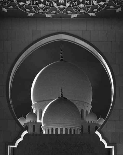 Mosque Photograph - Dome Framing by Ahmed Thabet