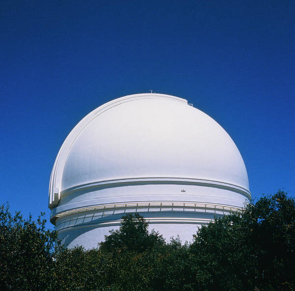 Big 5 Photograph - Dome Of Hale Telescope by Alex Bartel/science Photo Library