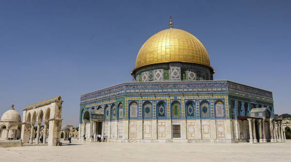 Jerusalem Photograph - Dome Of Rock by Photography By Daniel Frauchiger, Switzerland