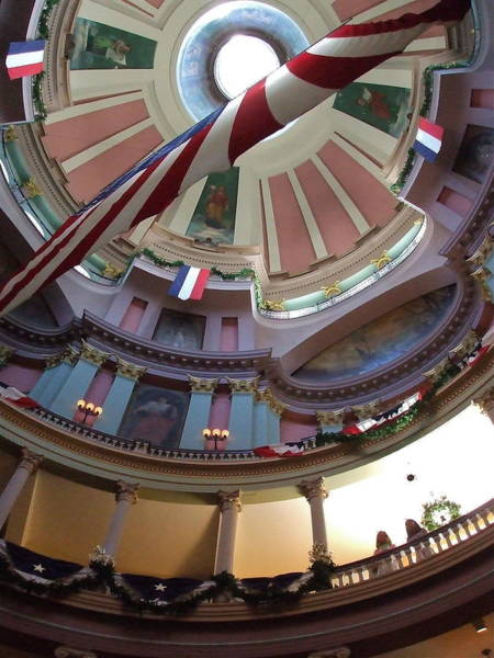 Dred Photograph - Dome Of The Old Courthouse by Susan Wyman