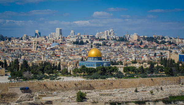 Wall Art - Photograph - Dome Of The Rock In Jerusalem by David Morefield