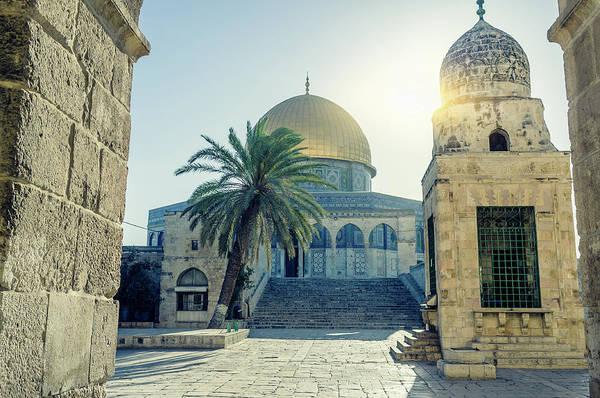 Jerusalem Photograph - Dome Of The Rock, Jerusalem, Israel by Fredfroese