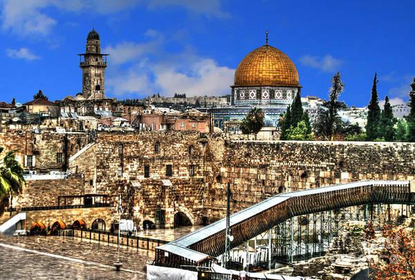 Photograph - Old City Of Jerusalem by Doc Braham