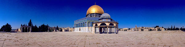 Wall Art - Photograph - Dome Of The Rock, Temple Mount by Panoramic Images