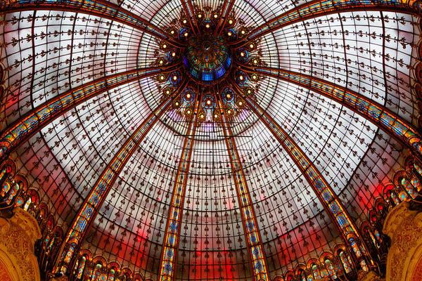 Galeries Lafayette Photograph - Domed Elegance by Jens Lambert