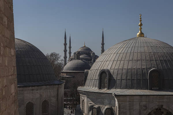Domes And Minarets Art Print by Adriano Ficarelli