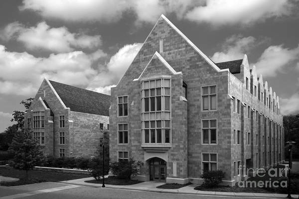 Co Photograph - Dominican University Parmer Hall by University Icons