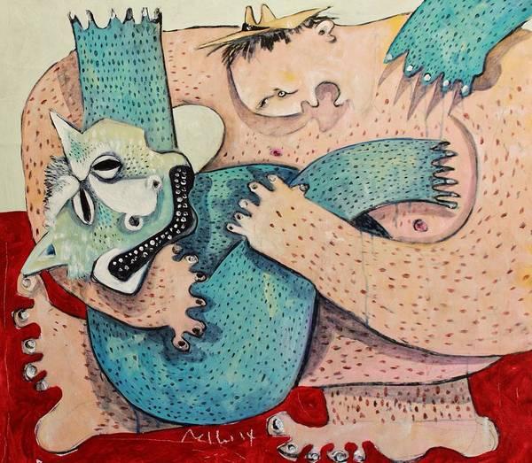 Wall Art - Painting - Domos No. 1  by Mark M  Mellon