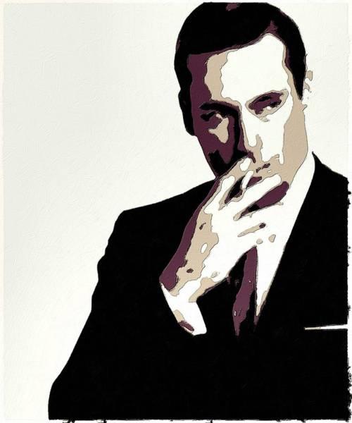 Painting - Don Draper Poster Art by Florian Rodarte