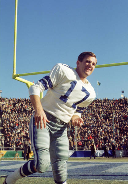 Games Photograph - Don Meredith Warms Up by Retro Images Archive