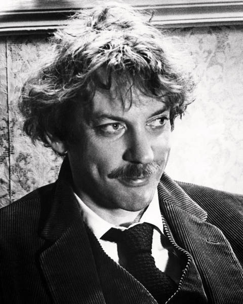 Donald Photograph - Donald Sutherland by Silver Screen