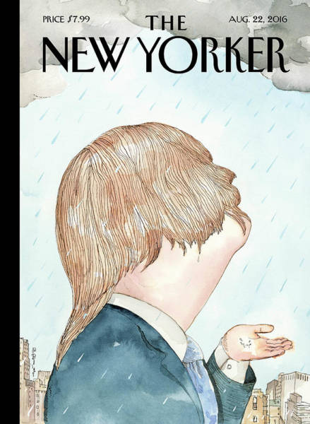 Donald Trump Painting - Donald's Rainy Days by Barry Blitt