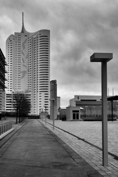 Donau Photograph - Donau City 5 by Alessio Rigoni