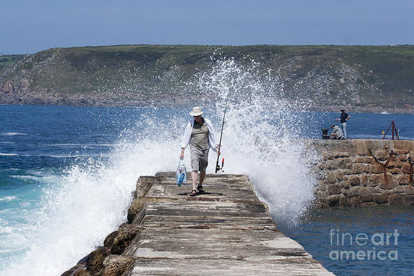 Sennen Cove Photograph - Done Fishing by Terri Waters
