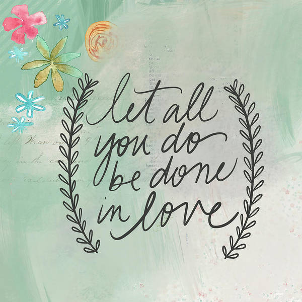 Wall Art - Painting - Done In Love by Katie Doucette