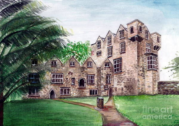 Donegal Painting - Donegal Castle by Nora Gallagher